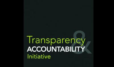 logo for Transparency Accountability Initiative