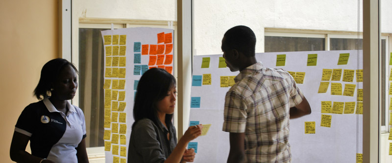 Synthesis session in Nigeria