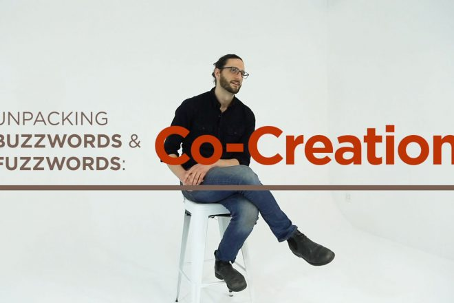 corey chao buzzwords fuzzwords co-creation co-design